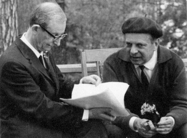 Вениамин Цукерман и Юлий Харитон