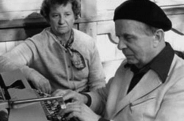 Вениамин Цукерман и его жена Зинаида Азарх