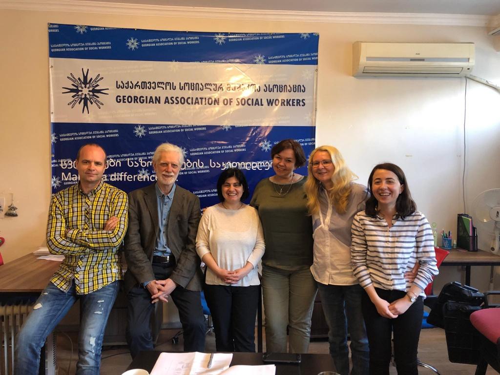 встреча с Союзом социальных работников Грузии