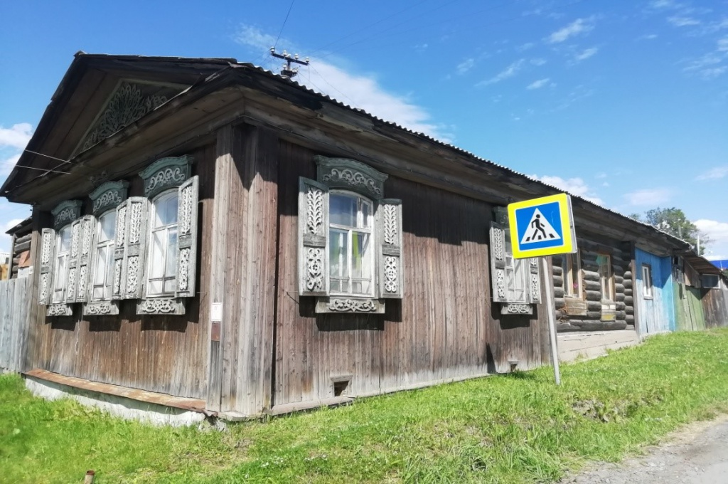 Дом постройки 19 века